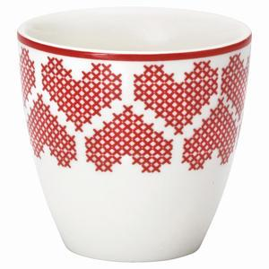 Green Gate / Mini latte cup December red