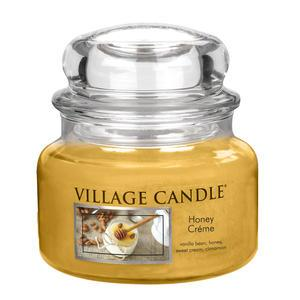 Village Candle / Svíčka ve skle Honey Créme - malá