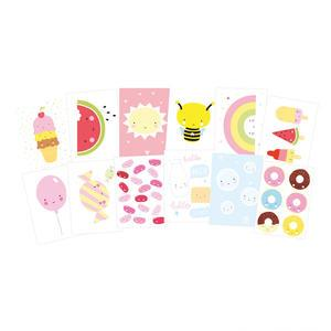 A Little Lovely Company / Pohlednice Cute Kawaii - set 12 ks