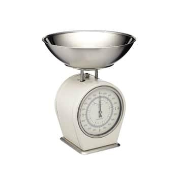 Mechanická kuchyňská váha Cream - 4kg