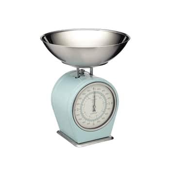 Mechanická kuchyňská váha Vintage blue - 4kg