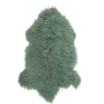 Tibetská ovčí kožešina Green