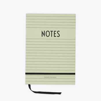Zelený zápisník Notes