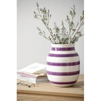 Váza Omaggio Plum 21 cm