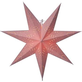 Závěsná svítící hvězda Romantic Pink 54 cm
