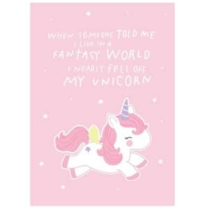 A Little Lovely Company / Pohlednice Fantasy Unicorn
