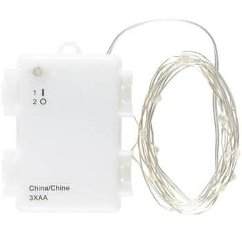 Svetelný LED drôtik na vonkajšie použitie 2m