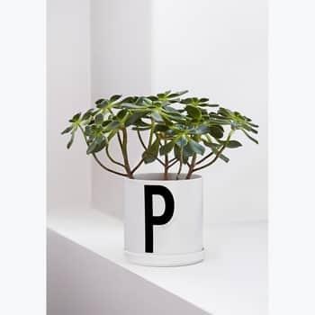Porcelánový kvetináč Design Letters Plant