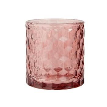 Sklenený svietnik Malva glass