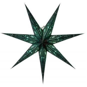 Závěsná svítící hvězda Ebba Green 80 cm