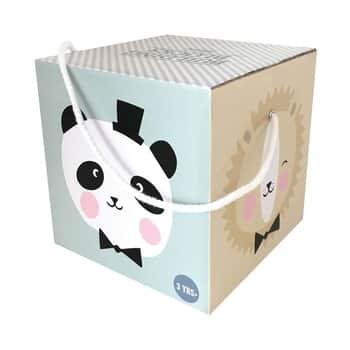 Papierové náučné koctky - set 10 ks