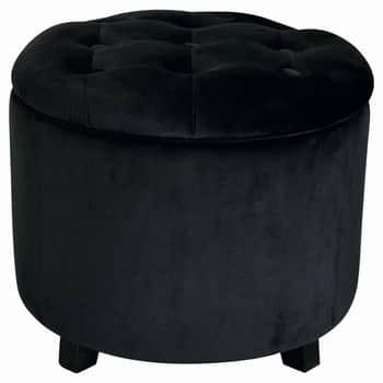 Taburet súložným prostorem Black Gate Noir