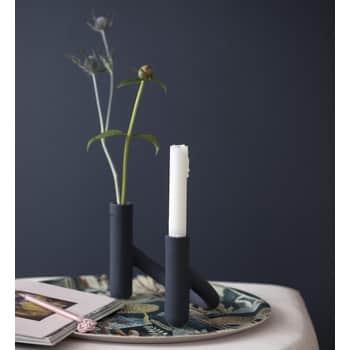 Keramický svícen/váza Nellemann Blueberry Blue
