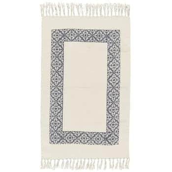 Bavlněný kobereček Blue Frame 55x85