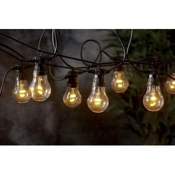 Světelný venkovní LED řetěz Black