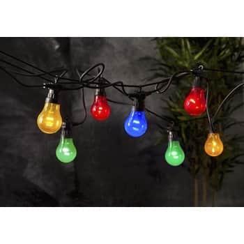 Světelný venkovní LED řetěz Circus - 10 žárovek