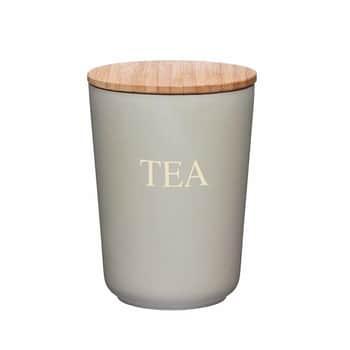 Bambusová dóza na čaj Grey