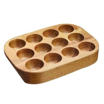 Drevený box na vajcia Acacia