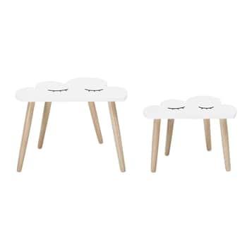 Dřevěný stolek Cloud