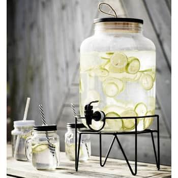 Nádoba na limonádu so stojanom Clear 8l