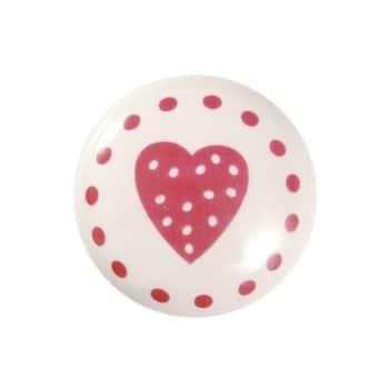 Porcelánová úchytka Sweet heart