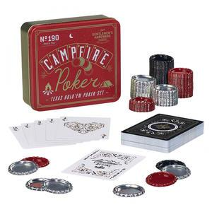 GENTLEMEN'S HARDWARE / Kapesní sada na Texas Hold 'em Poker