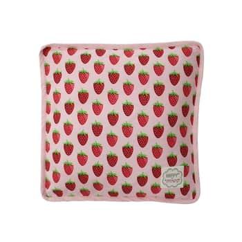 Bavlněný povlak na sedák Strawberry