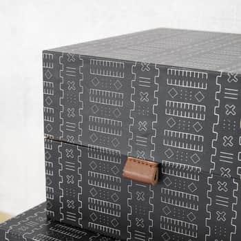 Úložný box čtverec Inka