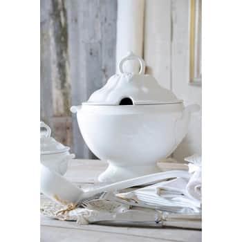 Servírovací mísa na polévku Tureen White 3L