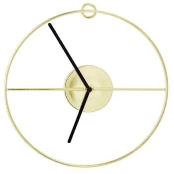 Nástěnné hodiny Gold Circle