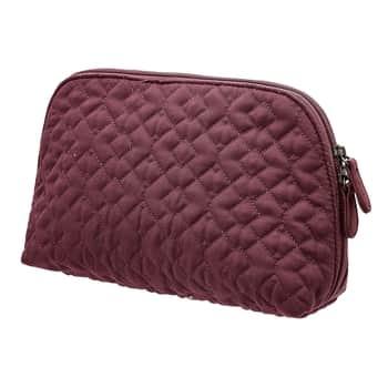 Prešívaná kozmetická taška Red