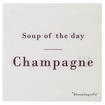 Papírové ubrousky Champagne