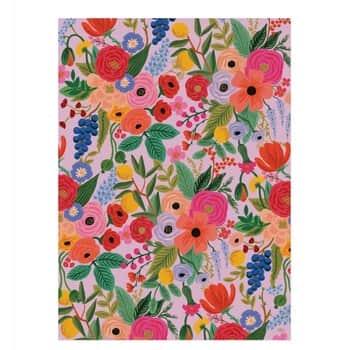 Balicí papír skvětinami Garden Party - 1 list