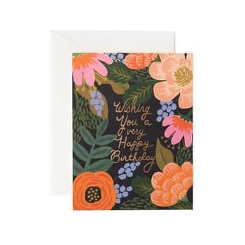 Přání sobálkou Bordeaux Birthday Card