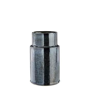 Keramická váza Metalic Blue