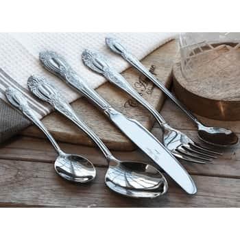 Příborový set Silver Steel - set 5ks