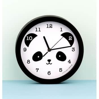 Detské nástenné hodiny - Smiling Panda