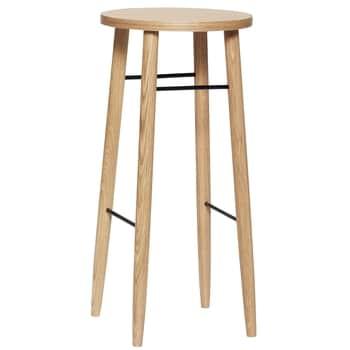 Dřevěná barová stolička Oak 72 cm
