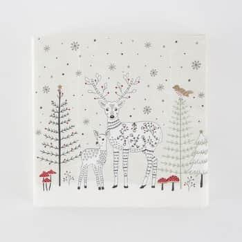 Papírové ubrousky Folk Deer 20 ks