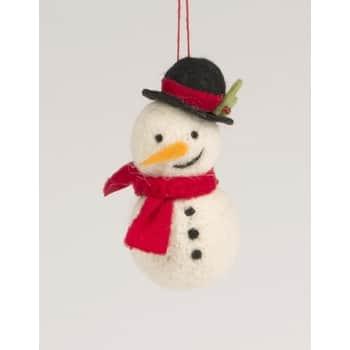 Závěsná vánoční dekorace Snowman