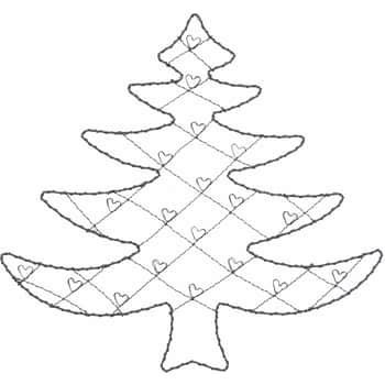 Drôtený držiak na fotky Christmas Tree