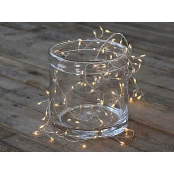 LED světelný řetěz Soft White 220 cm