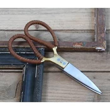 Vintage nůžky skoženkou Gold