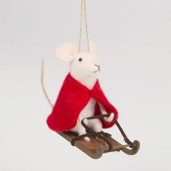 Závěsná ozdoba Sledging Mouse