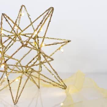 Závěsná svítící hvězda Polar Large Gold