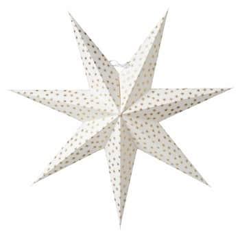 Závěsná svítící hvězda Asta Gold 60 cm