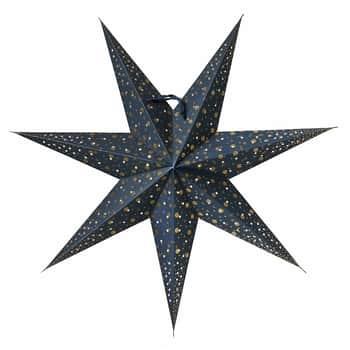 Závěsná svítící hvězda Isadora Blue 60 cm