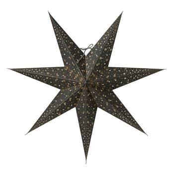Závěsná svítící hvězda Isadora Grey 60 cm