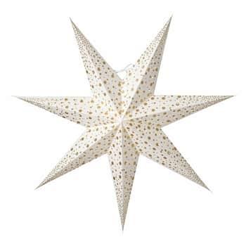 Závěsná svítící hvězda Isadora White 60 cm