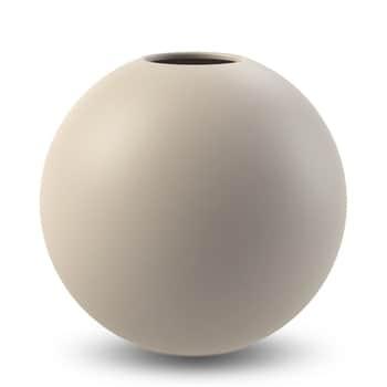 Guľatá váza Ball Sand 20cm